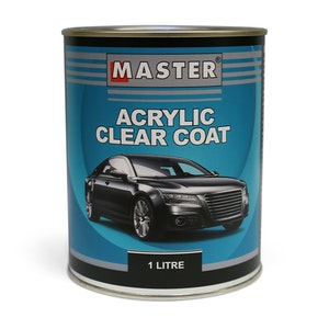 Master Acrylic Lacquer Clearcoat 1Lt