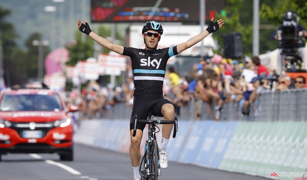 Nieve Wins Stage 13 of Giro d'Italia as Amador Takes Over Maglia Rosa