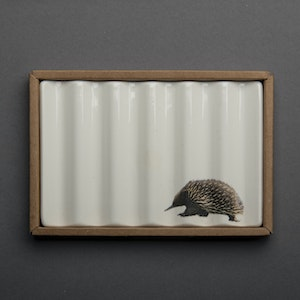 Soap Dish with Echidna