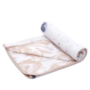aden + anais essentials to the moon stroller blanket