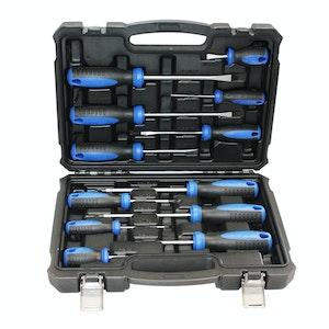 SP Tools Premium Screwdriver Magentic Tip Ergo Handle 12pc Set