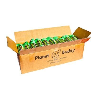 Planet Buddy 7L Bin Liners - 24 Rolls of 25 Liners