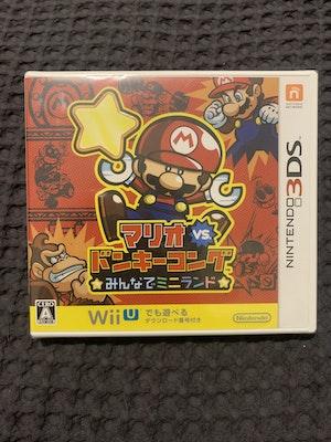 Mario vs. Donkey Kong Tipping Stars 3DS RARE Japan Import NTSC-J