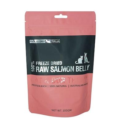 Freeze Dry Australia - Salmon Bellies 100g
