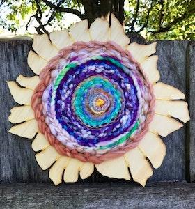 Pastel Forever Woven Flower