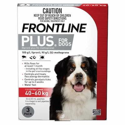 Frontline Plus Flea Treatment 40-60kg Dog