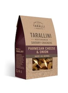 Tarallini - Parmesan Cheese & Caramelised Onion 125g