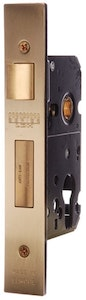 BDS Protector 735-60 euro style mortice lock in PB finish