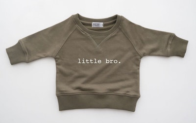 Little Bro Sweater - Olive