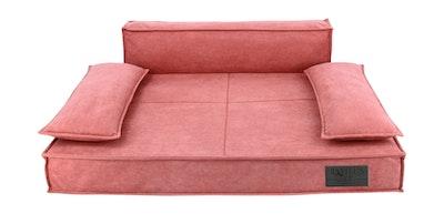 Premium Sofa Pet Bed Coral | Daniel's Pet Emporium