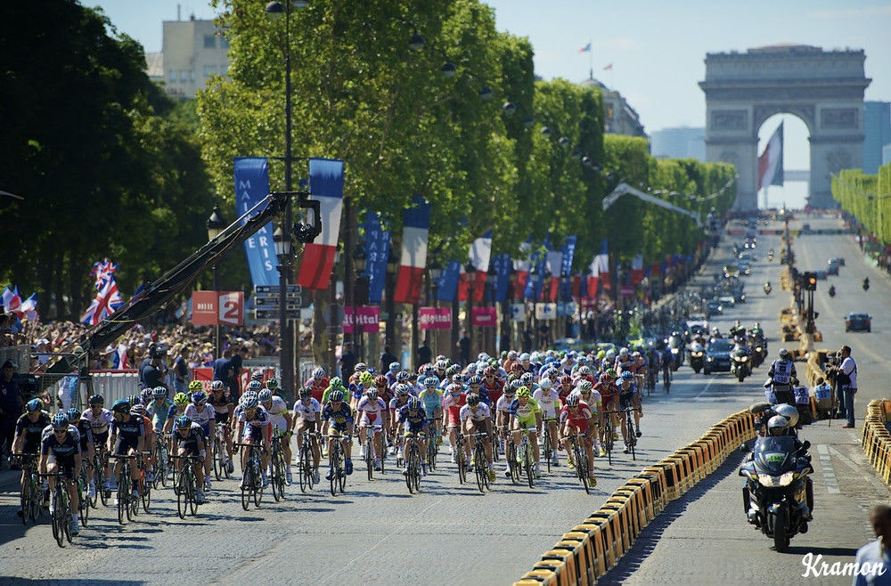 fullpage Tour de France Champs Elysees kramon