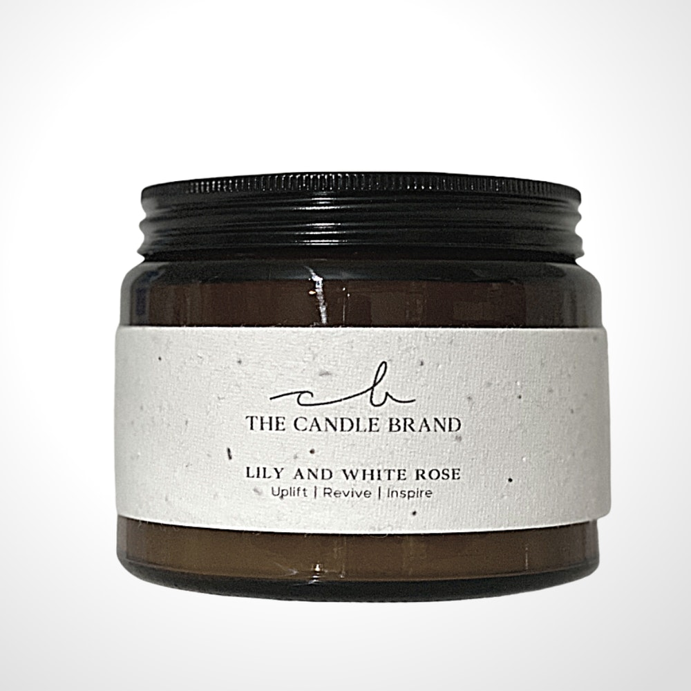 The Candle Brand 100 Hour Candles - The Burn + Bloom Collection