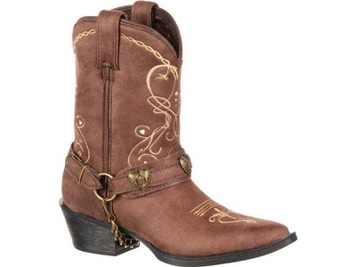 Lil' Durango Kids Heartfelt Western Boot