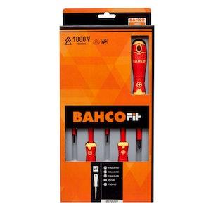 B220.005 Screwdriver Set 5 Piece 1000v BahcoFit Insulated B220.005