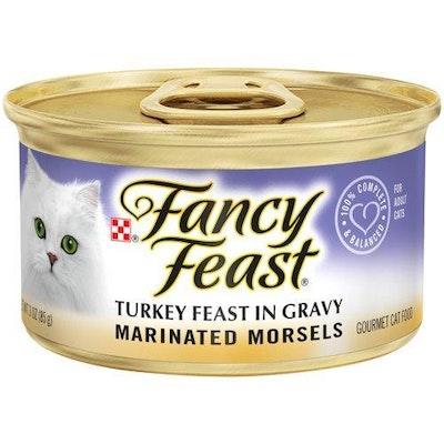 Fancy Feast Grilled Turkey Feast In Gravy