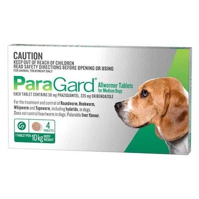 Paragard Allwormer Medium Dog