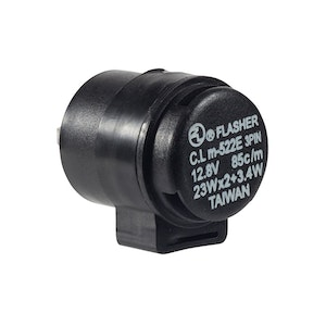 3 Pin 12V Flasher Relay - 20 W