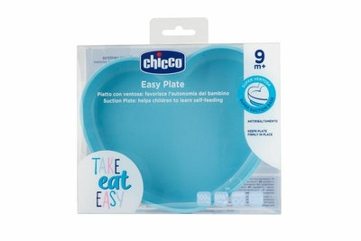 Chicco Silicone Heart Shaped Plate 9m+