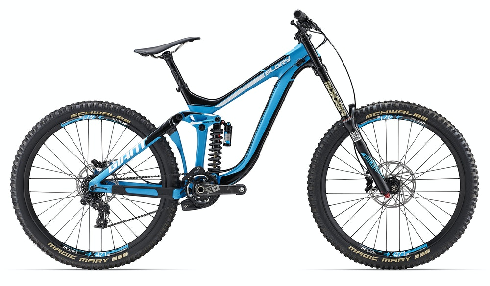 Giant Glory ADV 0 Blue BikeExchange 2017