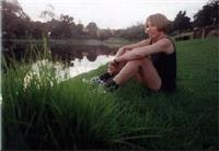 Jane Lomax-Smith enjoys the Torrens River after a morning jog