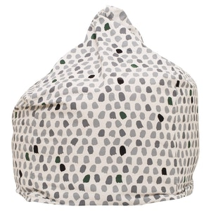 Play Pouch Splotches Bean Bag - Green & Grey