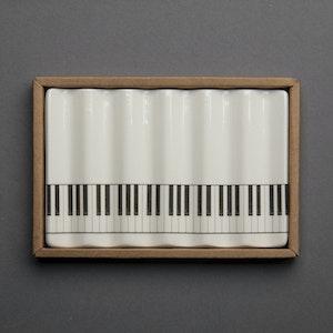 Soap Dish with Piano Keyboard