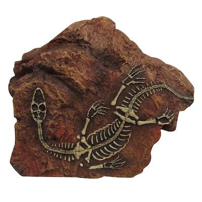 URS Fossil Hide Reptile Enclosure Accessory Medium