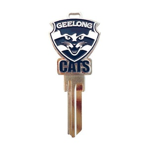 Creative Keys AFL Team Logo Key Blank LW4 – Geelong Cats