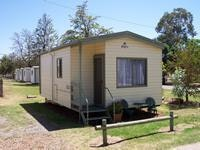 One bedroom ensuite unit Griffith Caravan Village.