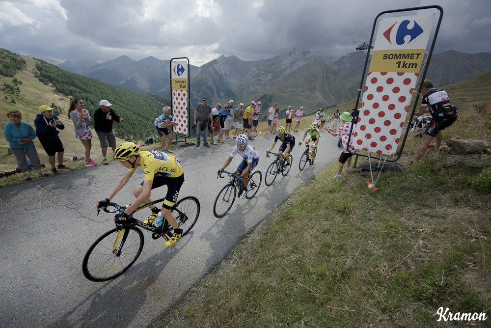 fullpage Tour de France mountains Froome GC kramon