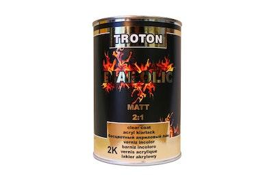 Diabolic Matt 2:1 Clear Coat 1.5Lt Kit