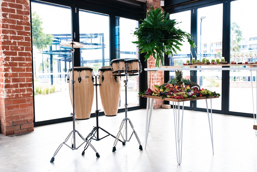 Modern Party Tropical Food Catering Party
