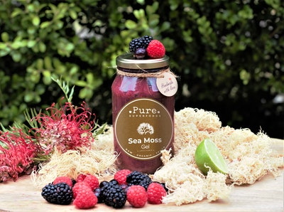 Pure Superfoods Mixed Berries Sea Moss Gel