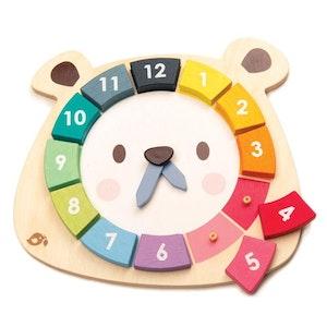 tender leaf toys Tender Leaf - Bear Colours Clock