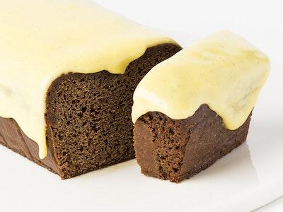 'Bake at Home'....Gingercake Loaf with Lemon Icing - serves 8