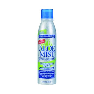 Fruit of the Earth Aloe Mist Pure Gel Continuous Spray 177ml