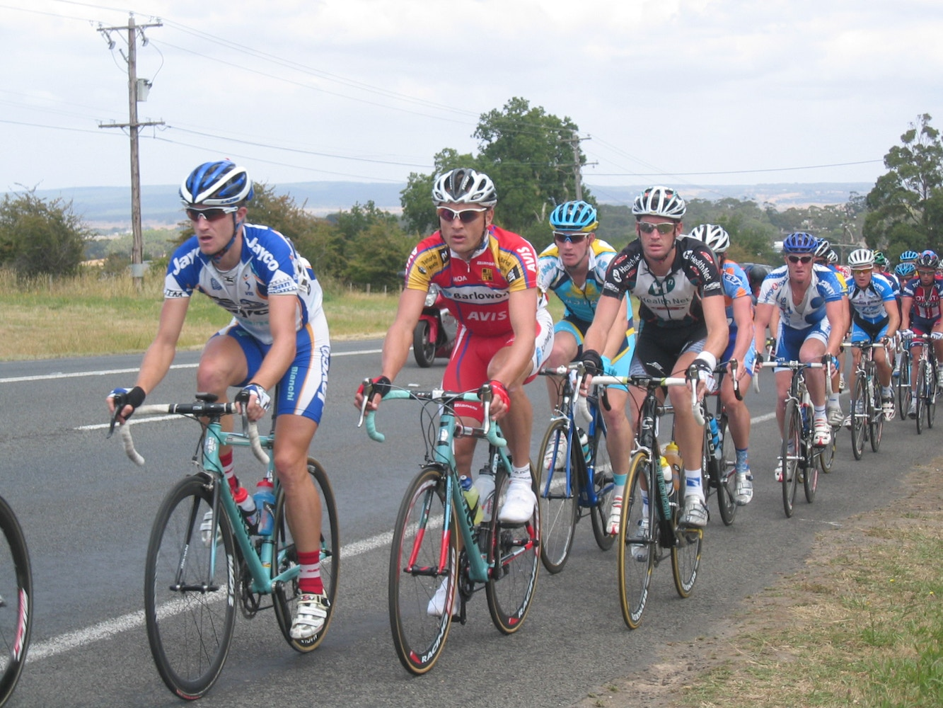 Congratulations to 2008 Australian Road Champion Matthew Lloyd!