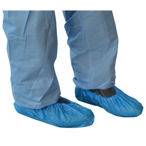 Box of 100 Blue Shoe Covers
