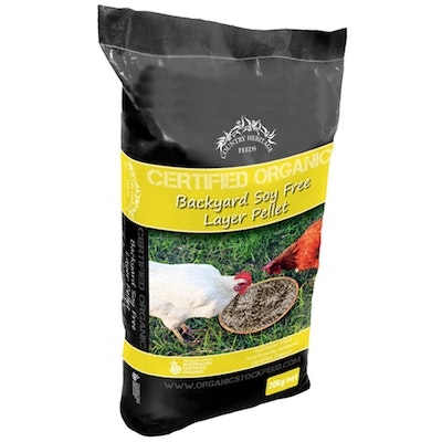 Country Heritage Organic Backyard Layer Soy Free Pellet Poultry 20kg