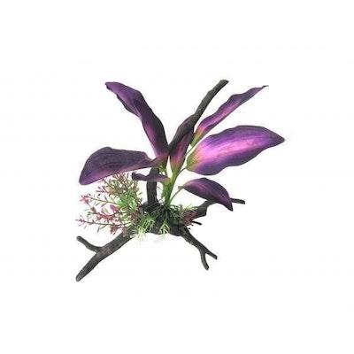 Warragul Pet Emporium Amazon Jungle Lilac Leaves On Branch 26cm
