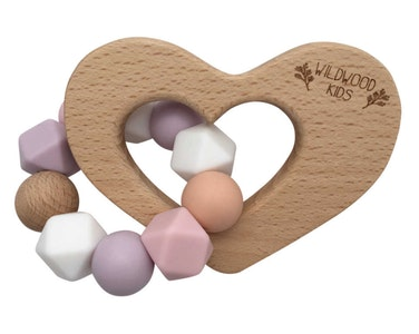 Heart Teething Toy