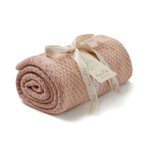 On Chic Baby Clothes GOTS Certified Organic Heirloom Blanket