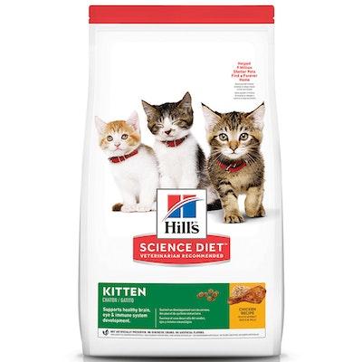 Hills Kitten Healthy Development Dry Cat Food Chicken - 3 Sizes