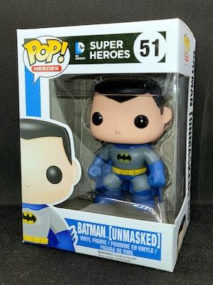 Unmasked Batman Pop Vinyl