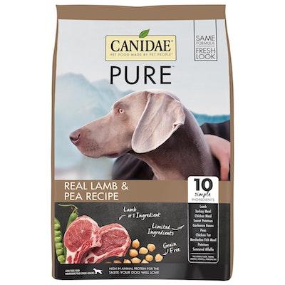 Canidae Pure Dog Grain Free Adult Lamb & Pea Dry Dog Food