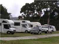 $7 parking for RVs near Strahan Golf Club