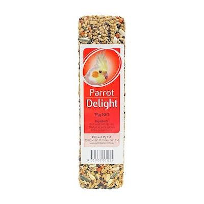 PASSWELL Avian Delight Bird Seed Treat Bar Parrot 24 Pack