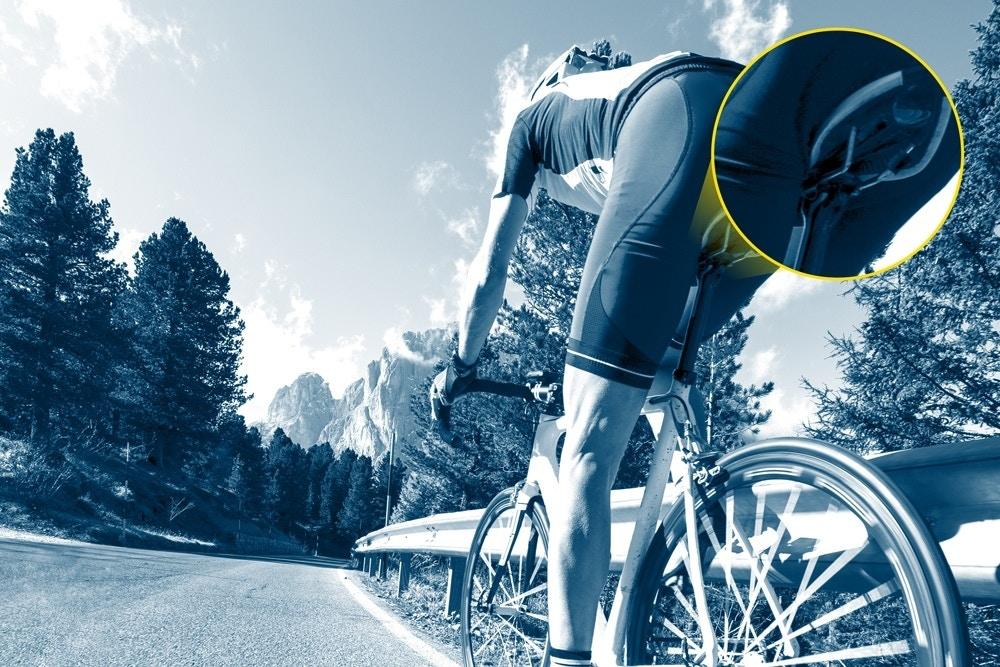 Zo voorkom je zadelpijn op de fiets