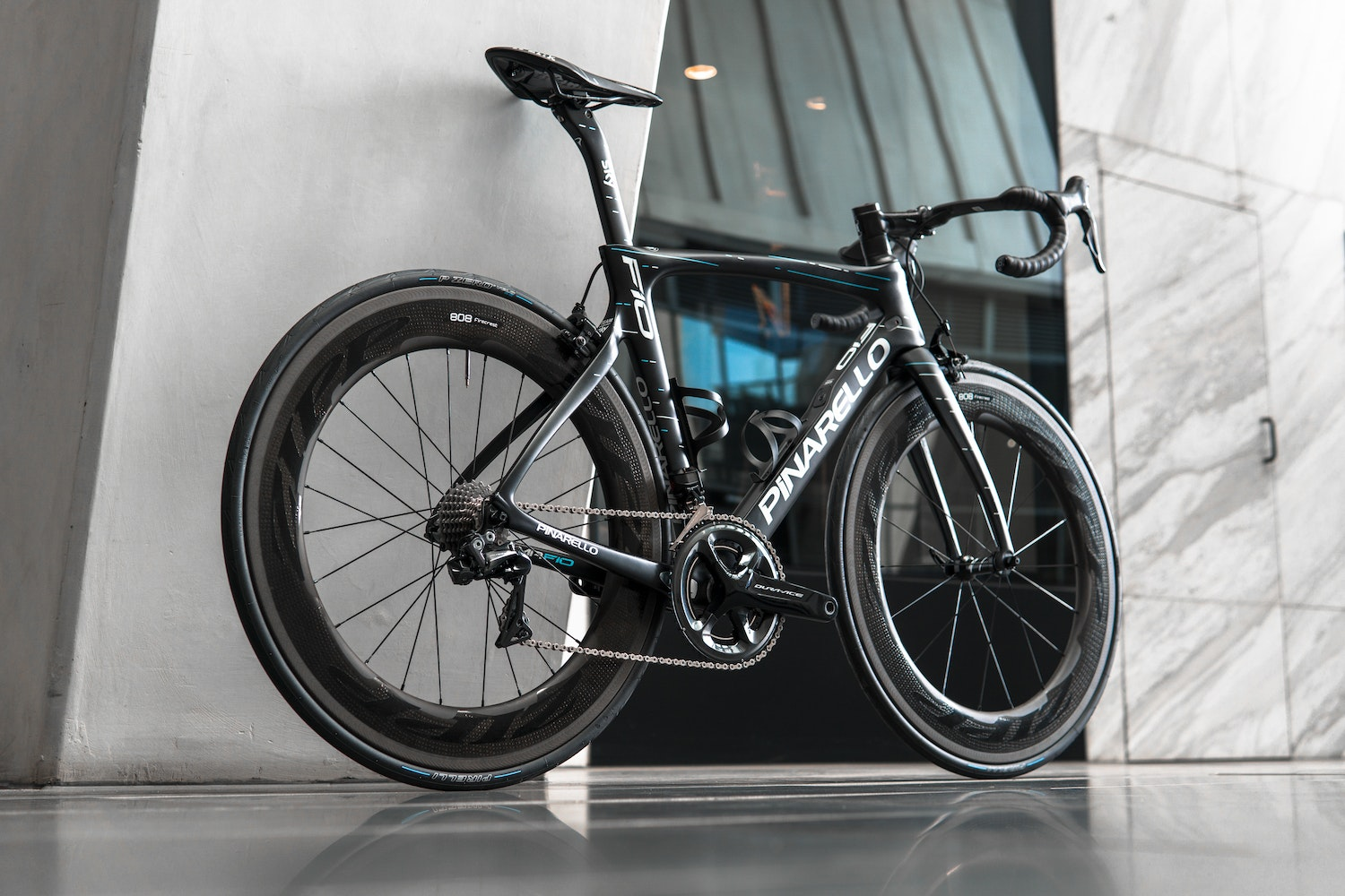 Pinarello F10 Sky Zipp 808 Dura Ace Custom Build Docklands Cycles