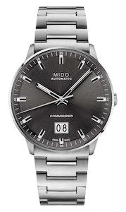 Mido Commander Big Date - Stainless Steel - Stainless Steel Bracelet